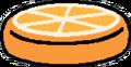 Cushion orange