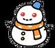 Frosty memento