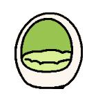 Eggbed white