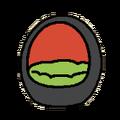 Eggbed black