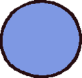 RubberBall Blue