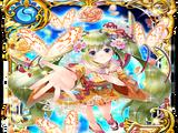 卡片資料/5543-初春的花園百花盛開 芙蕾‧艾蓮