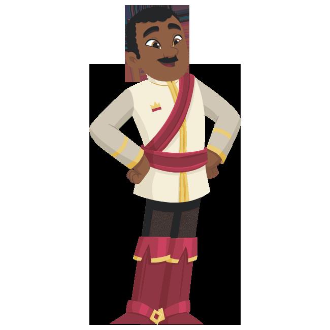 King Dad | Nella the Princess Knight Wiki | Fandom