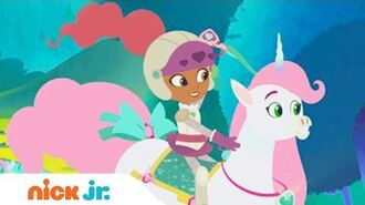 Nella the Princess Knight Official Theme Song Music Video Stay Home Nick Jr.
