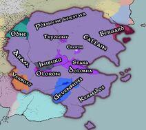 Dolonia - regiony