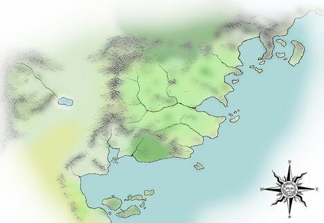 Mapa AŚN czysta