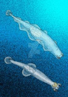 Eognathacantha y protosagitta by avancna-d2qavqp