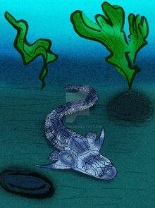 Diandongpetalichthys baojiaoshanensis by avancna-d675cdq