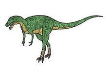 Alctrosaurus 3-fingered