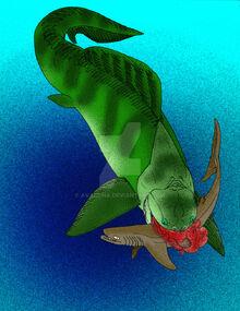 Dunkleosteus amblyodoratus by avancna-d2w7xgc