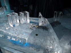 Ice bar counter