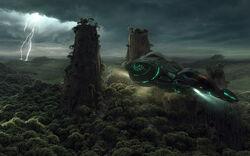 Jungle planet 1