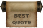 Award-Best Quote
