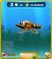 Rare Short Orange Seamoth