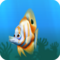 Fish beaked orange
