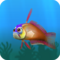 Fish firefish orange