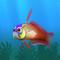 Fish firefish red