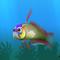 Fish firefish green