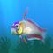 Fish firefish white
