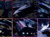 Zords in Power Rangers in Space