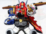 Zords in Power Rangers Megaforce