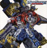 Transformers Armada DVD cover art