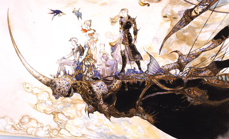 Final Fantasy Characters Concept Art