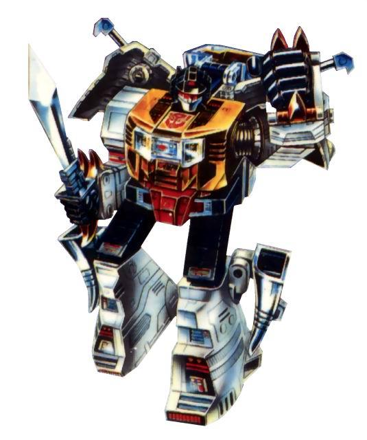 Stickers Transformers E-hobby Black Convoy Megatron and Sunstorm Special Manga