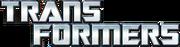 Transformers layered text logo