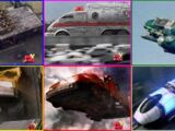 Zords in Power Rangers Lightspeed Rescue
