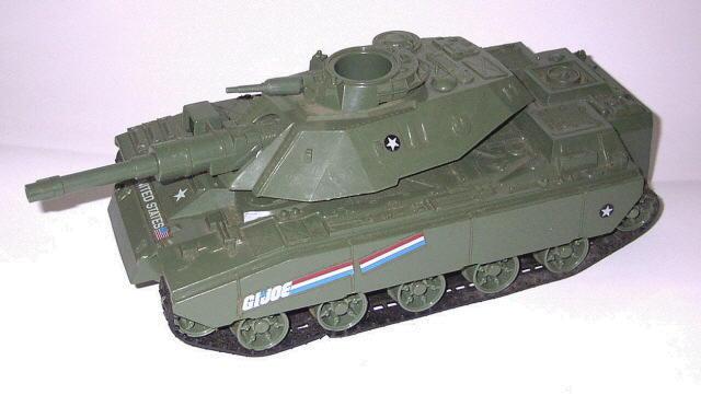 GI Joe Vehicle Attack Cruiser Mine 1992 Original Part