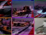 Zords in Power Rangers Time Force