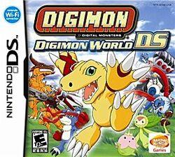 Digimon World DS Coverart