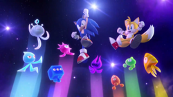Wisps in Sonic Colors