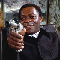 Dr Kananga Mr Big by Yaphet Kotto