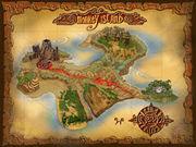 Monkey Island Map