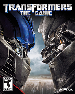 Transformers - The Game Coverart