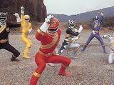 Wild Force Power Rangers