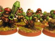 Squat-infantry