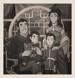 Mako & Bolin's family Portrait