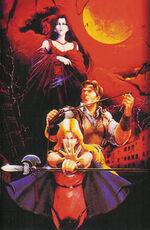 Castlevania-Bloodlines Artwork