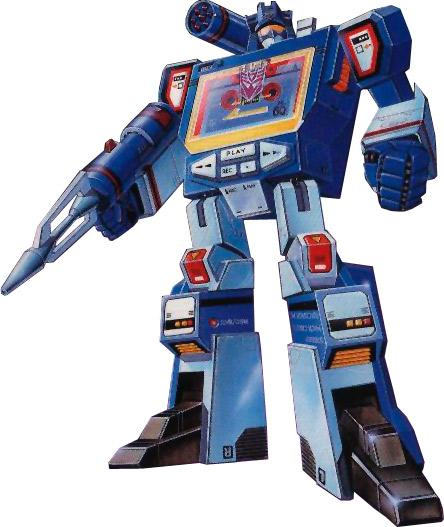 Soundwave with Buzzsaw G1 Transformers Decepticon Reissue Christmas Gfit