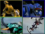 Zords in Power Rangers Jungle Fury