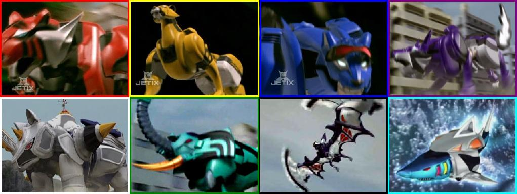 Zords in Power Rangers Jungle Fury | Neo Encyclopedia Wiki