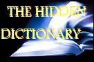The Hidden Dictionary