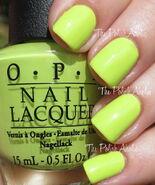 OPI Life Gave Me Lemons 1
