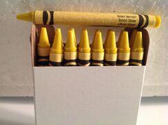 Crayola Laser Lemon Crayon 16 pack