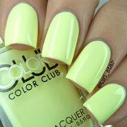 Color Club Poptastic Pastel Neon Under The Blacklight swatch 01