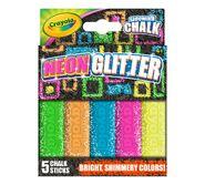 03-5806-0 Product Outdoor Sidewalk-Chalk 5ct Special-Effects-Chalk Neon-Glitter F