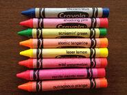 Crayola Jumbo Flourescent Crayons